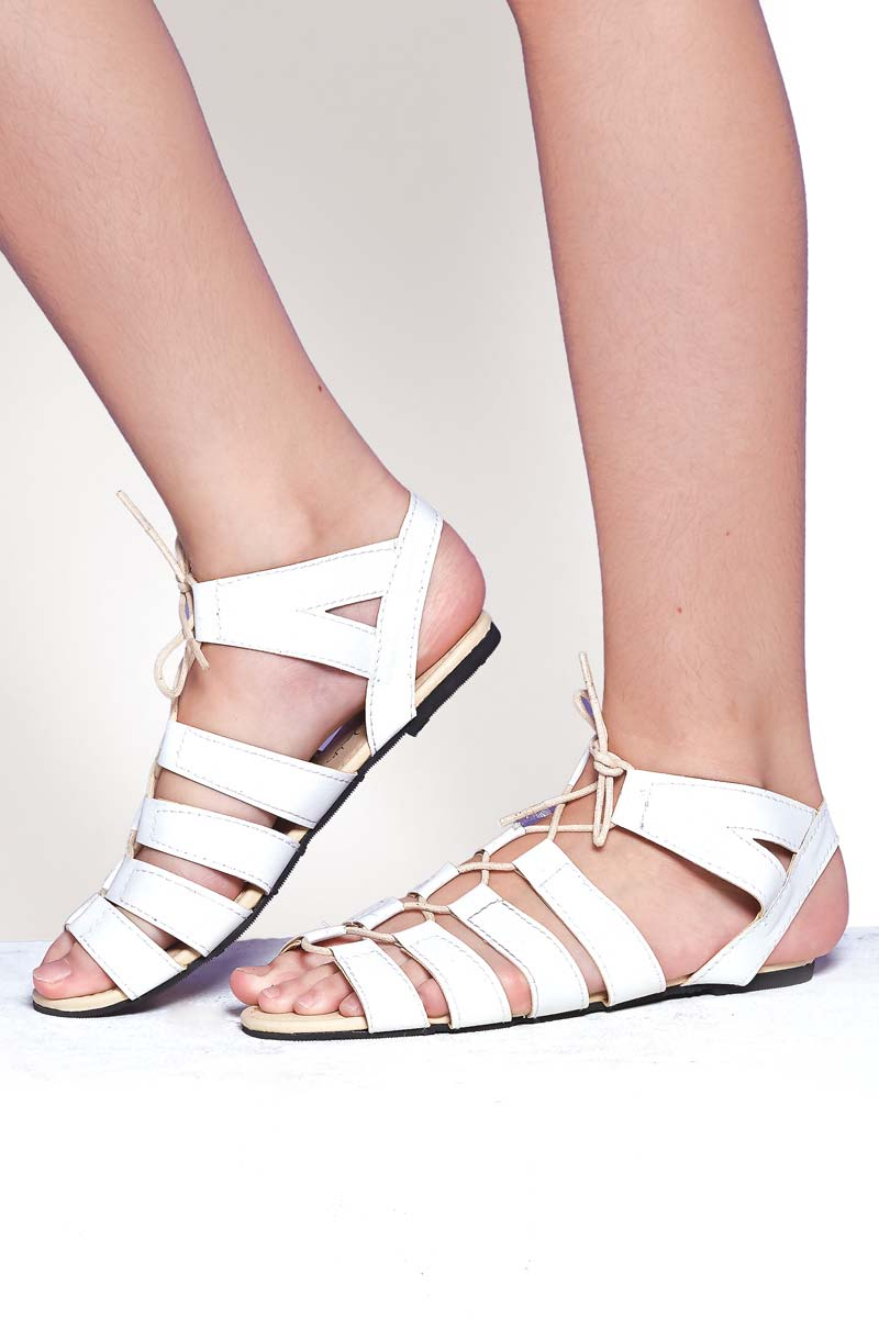 40902b036975 Ladies Flat Gladiator Sandals - Mikaela Online Shopping